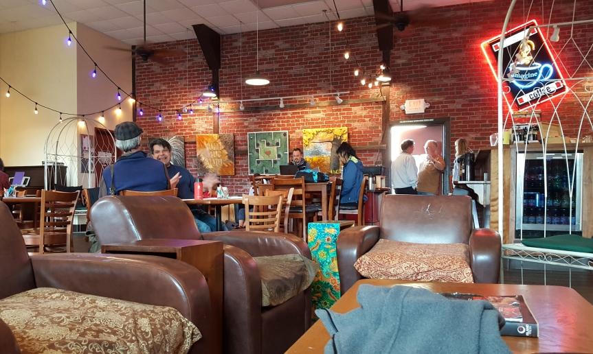 Imagine coffee shop Corvallis