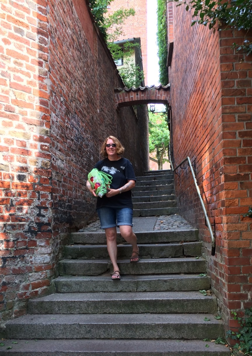 D-fly Lubeck stairs