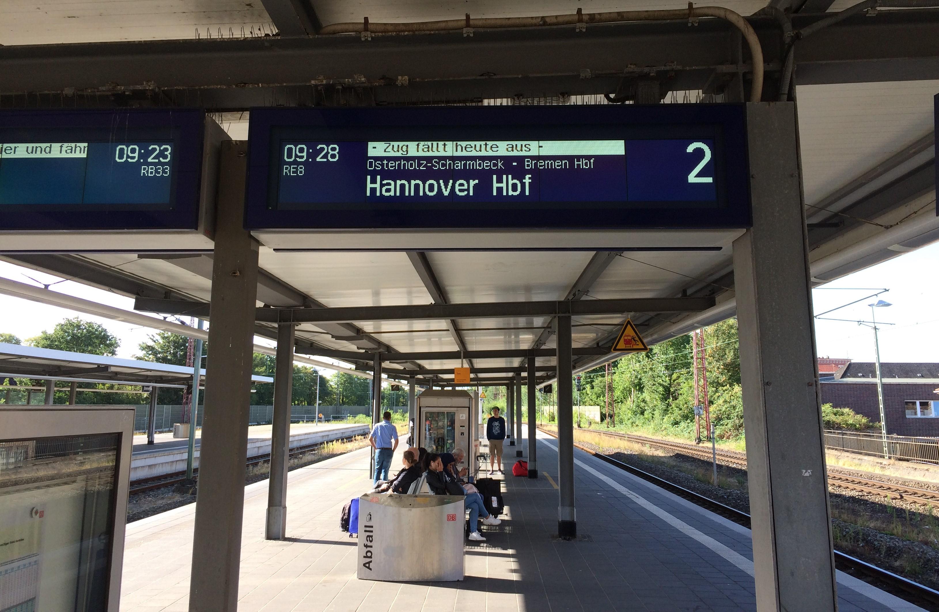 Bremerhaven train station
