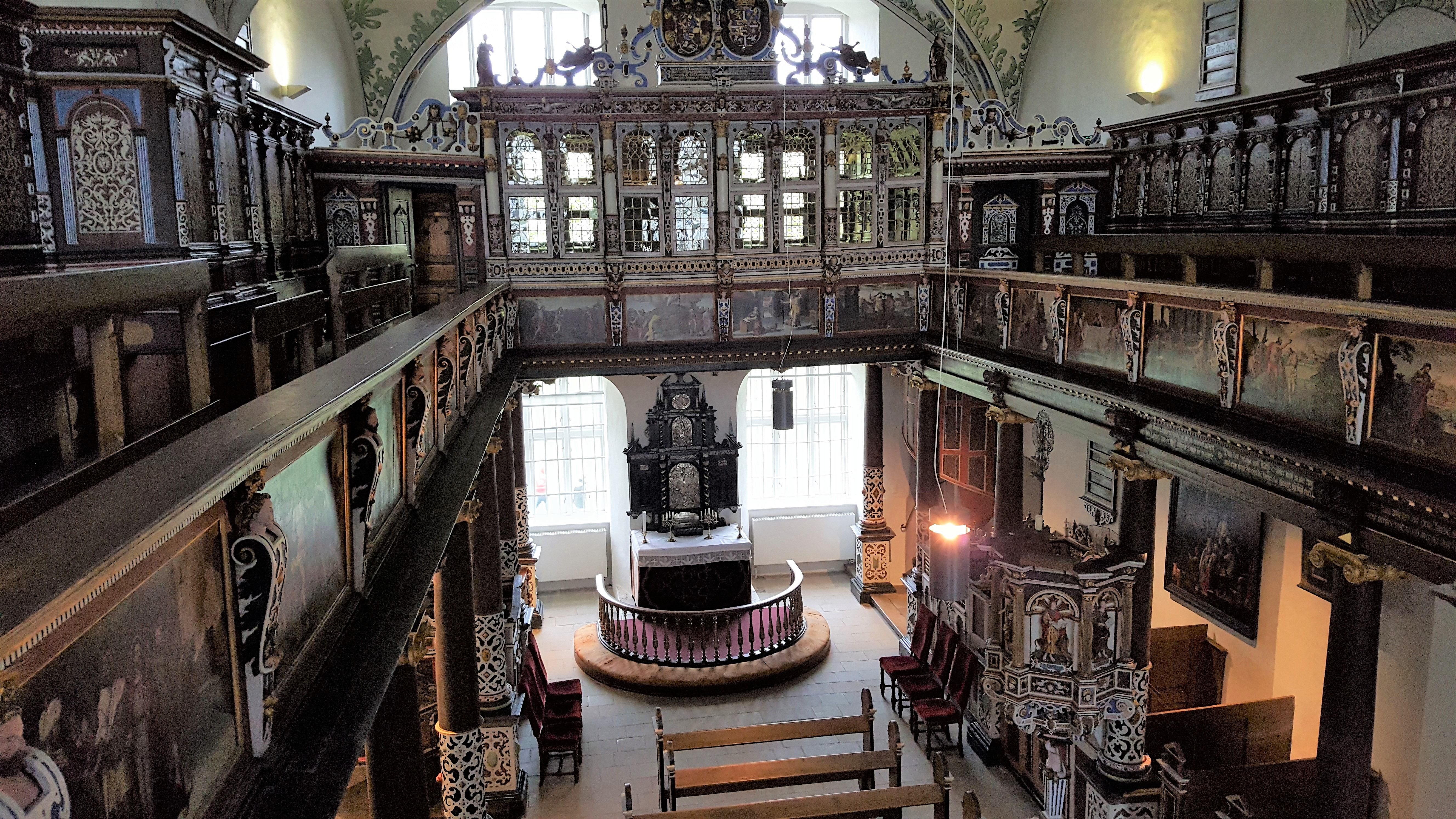 The chapel in Gottorf Castle, Schleswig. Photo by Dragonfly Leathrum