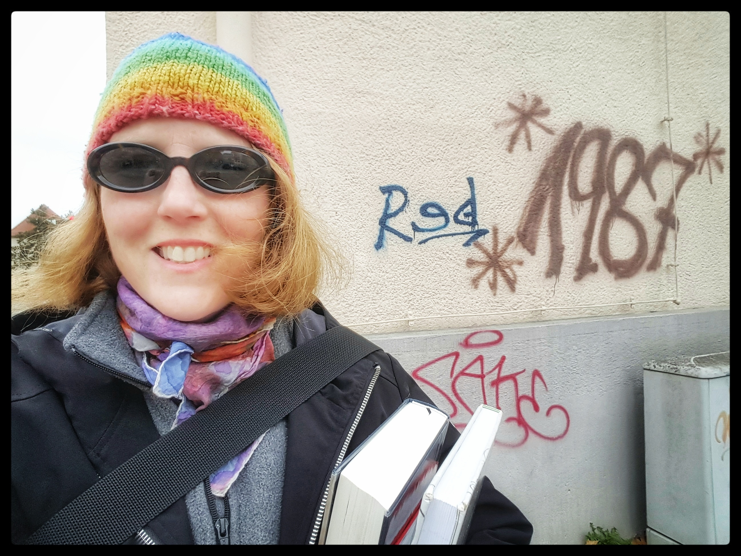Layers and rainbows is how I roll. Photo by Dragonfly Leathrum