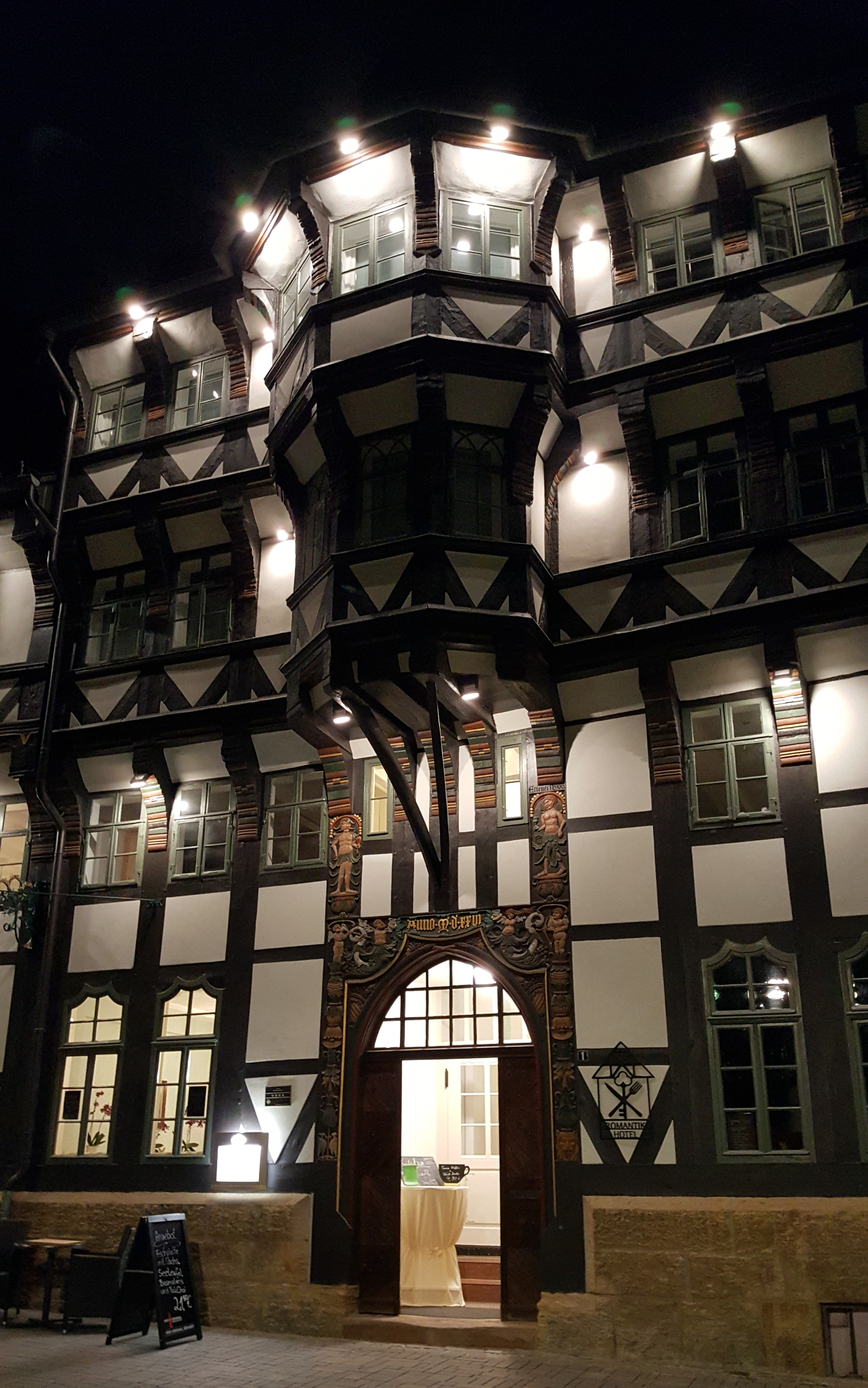 Our Hotel. Photo by Dragonfly Leathrum