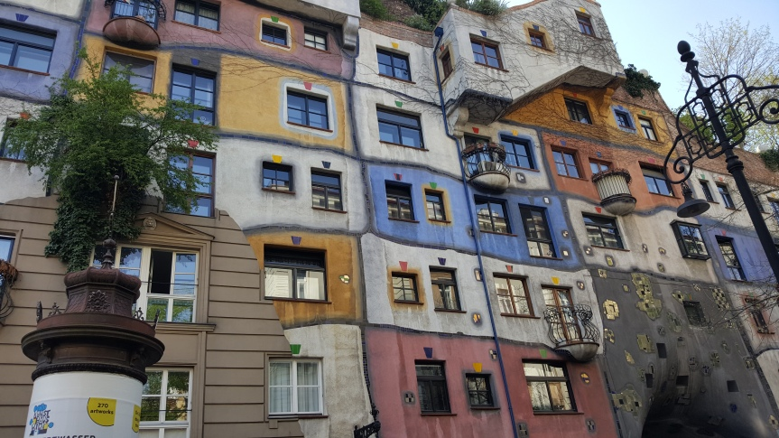 Hundertwasserhaus. Photo by Dragonfly Leathrum
