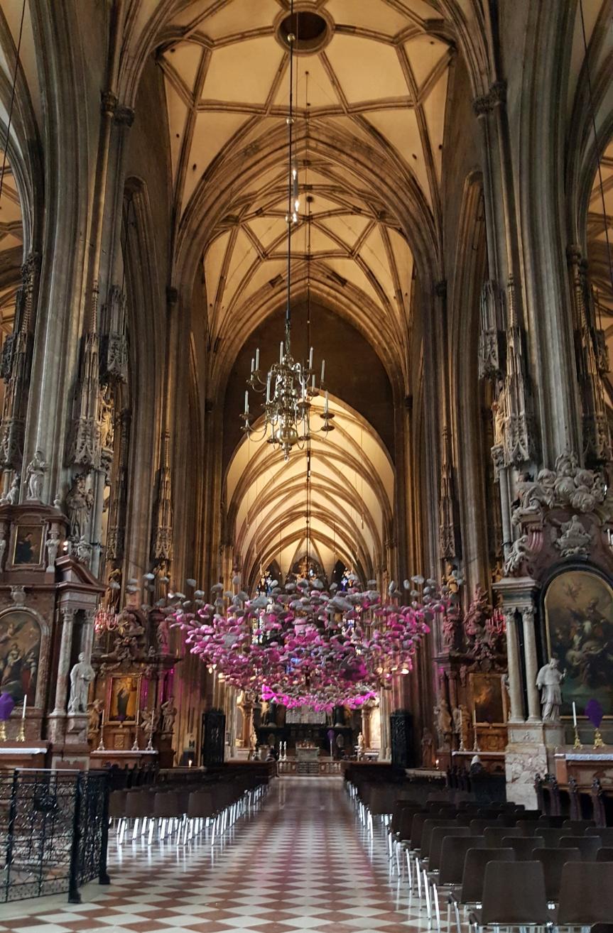 Inside St. Stephansdom