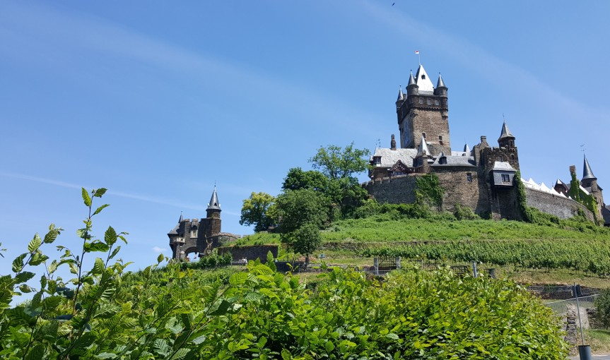 Reichsburg Castle Cochem Germany. Photo by Dragonfly Leathrum