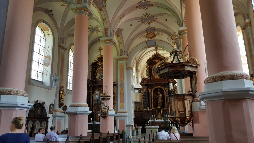 Inside St. Joseph's Catholic Church and Carmelite Monestery. Photo by Dragonfly Leathrum