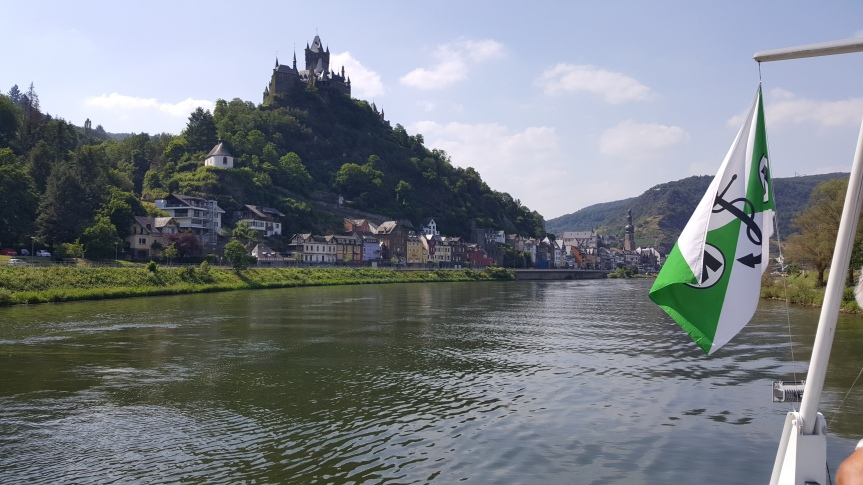Cochem from the boat. Photo by Dragonfly Leathrum