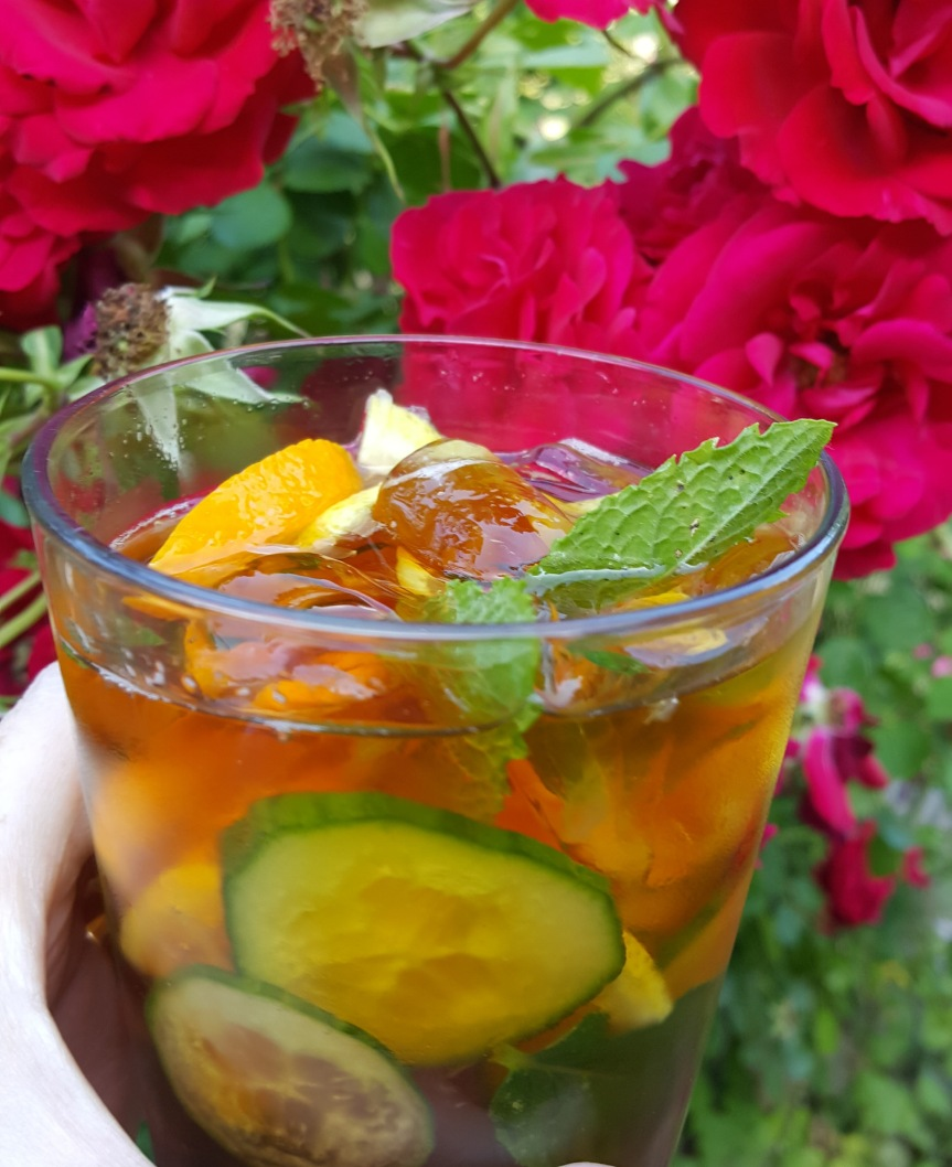 The Queen's drink, perfect for summer. Photo by Dragonfly Leathrum