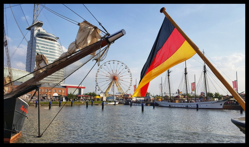 Not a bad neighborhood to live in. Bremerhaven, Germany. Photo by Dragonfly Leathrum