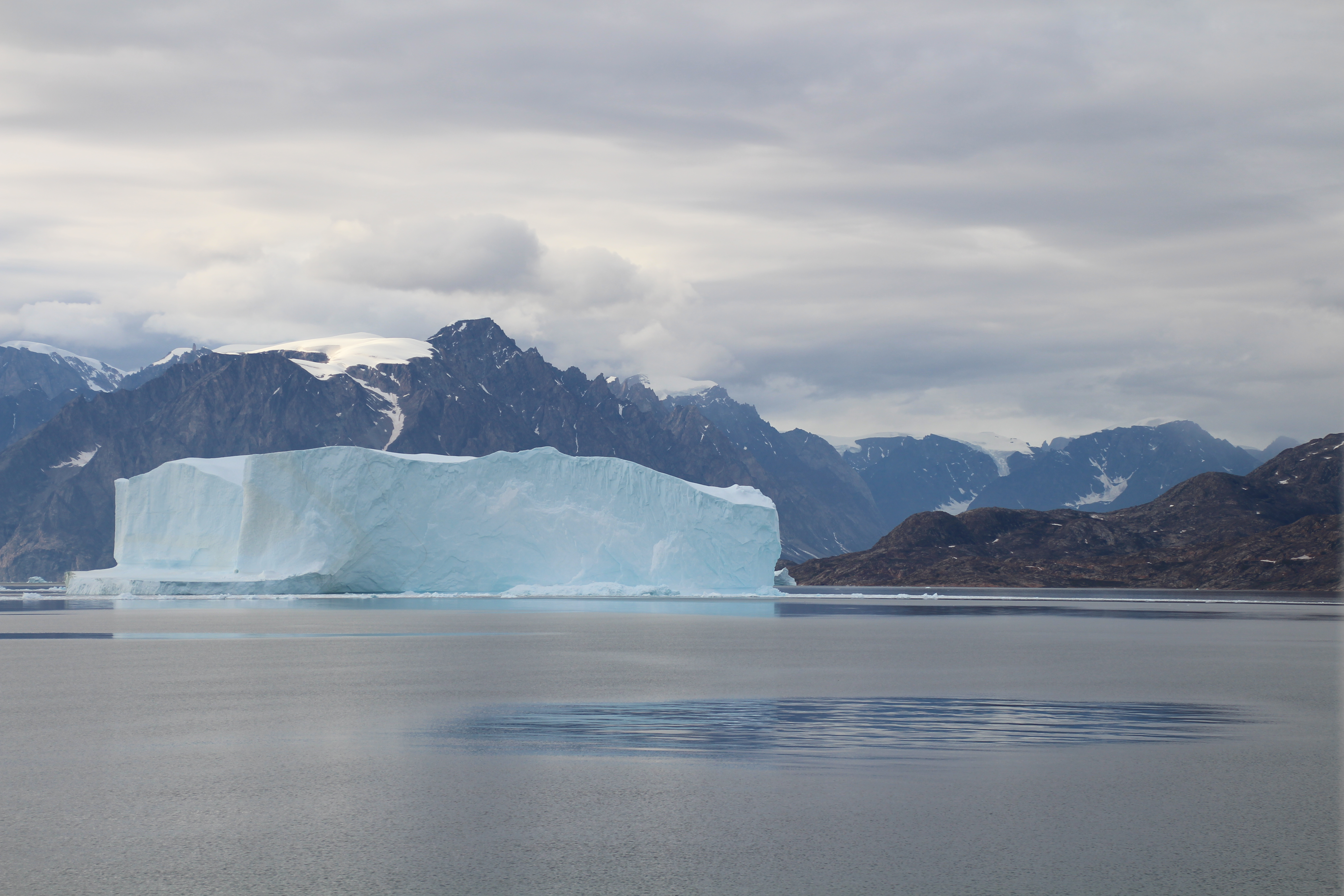 August 21, 4:54pm, Scoresby Sound Greenland. Photo by Dragonfly Leathrum