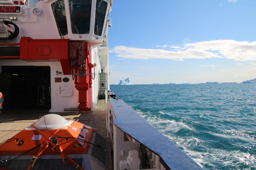 Aug 22, 2018, 2:57pm, Scoresby Sound Greenland aboard the FS Maria S. Merian. Photo by Dragonfly Leathrum