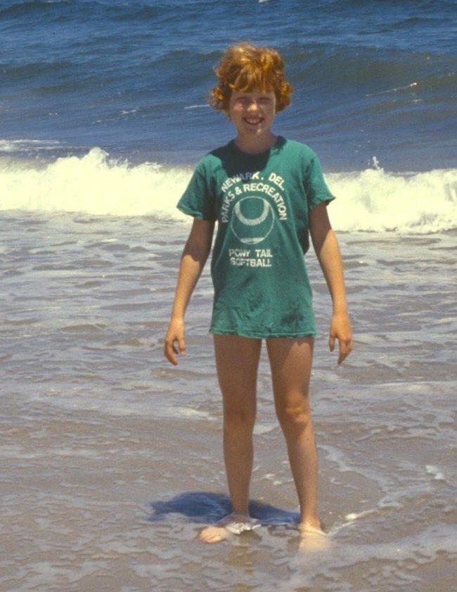 A beach lover for a long time. In the 70's I used a t-shirt to avoid bad sunburns. I remember usually burning the worst on the backs of my knees.