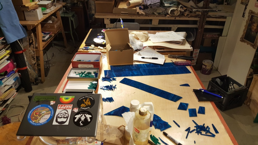 Dragonfly Art Studios. Photo by Dragonfly Leathrum