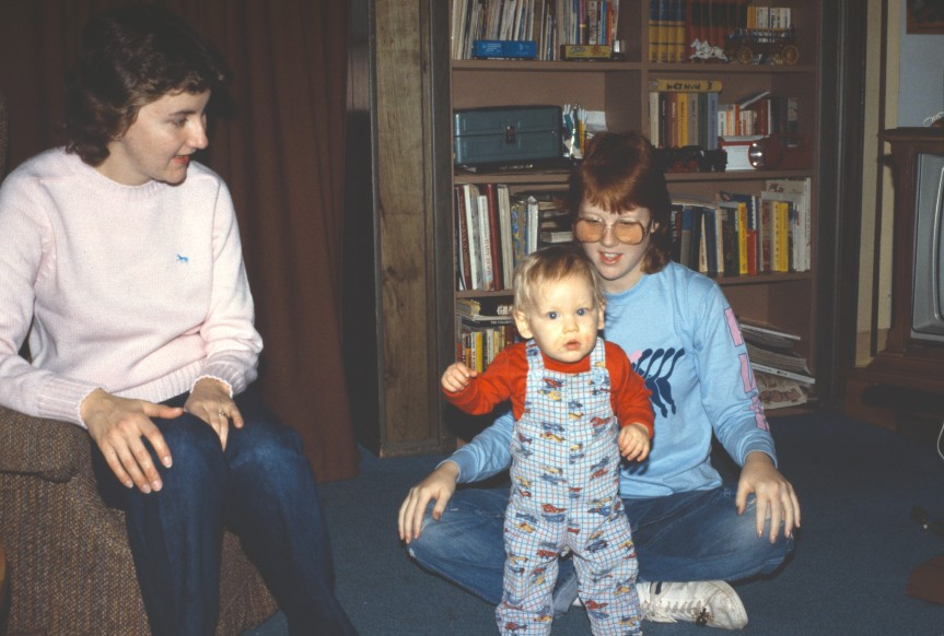 Bonnie, Jason and I in the mid 1980s.